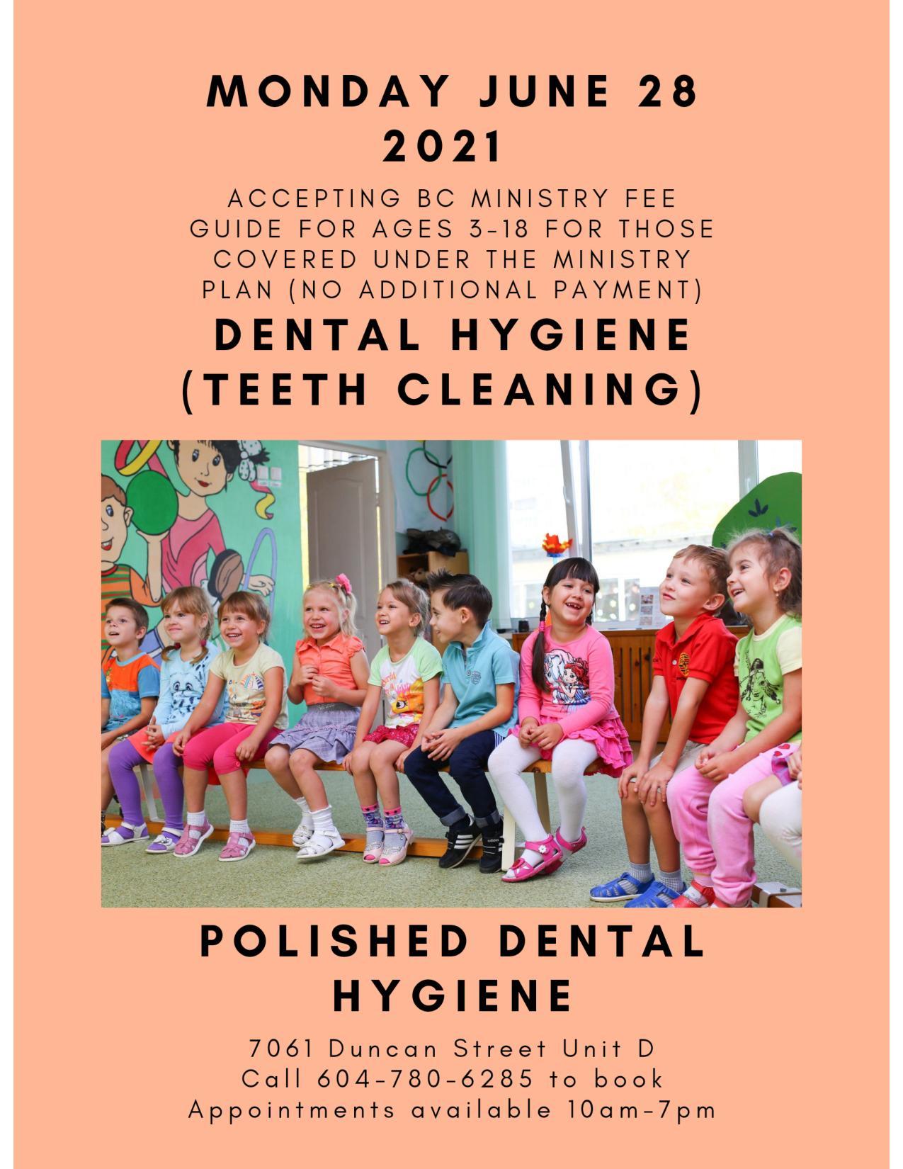 Polished Dental Hygiene